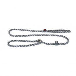 Laisse rétro-réflechissante avec collier semi-étrangleur - 13 mm - 1,80 m