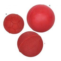 Balle Rubb'n'Red Rubb'n'Roll 100 % Naturel - Très résistant