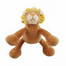 Jouet peluche sonore Bio Lion 15 cm