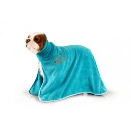 Turquoise Dry Dude Bath Robe