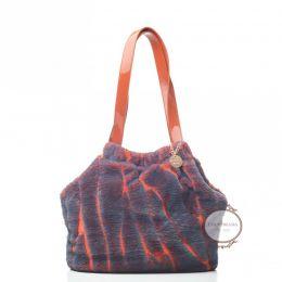 Inamorada Furry Fab Purple Luxury carrier bag