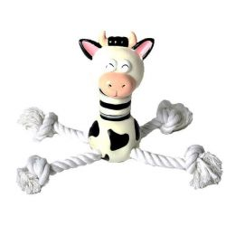 """Super Cow"" Rope & Vinyl Toy"