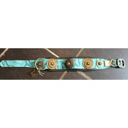 """Exceptional"" Mathero Turquoise Luxury Collar"