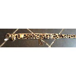 """Collier Luxe """"Exceptional"""" - Zanzibar Leopard"""
