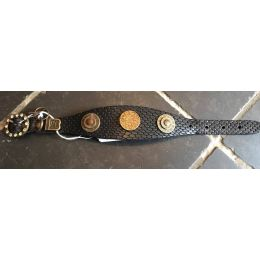 """Exceptional"" Diamond Black Swaty Luxury Collar"