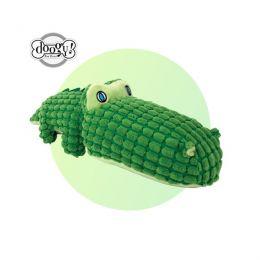 Peluche sonore crocodile