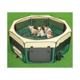 Pet play park pour chiots - vert