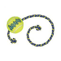 Kong AirDog Squeakair Ball w/Rope