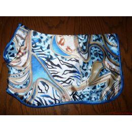 Manteau préparation expo flashy bleu & doré