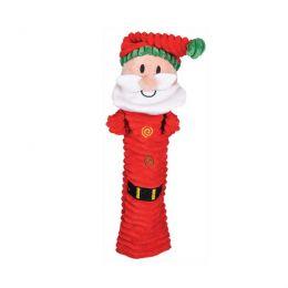 Peluche Père Noël plat sonore