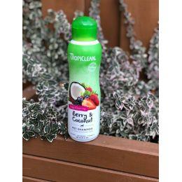 TropiClean Natural - Shampooing nettoyant en profondeur - Fruits rouges & noix de coco