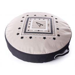 Dog round cushion - Beige