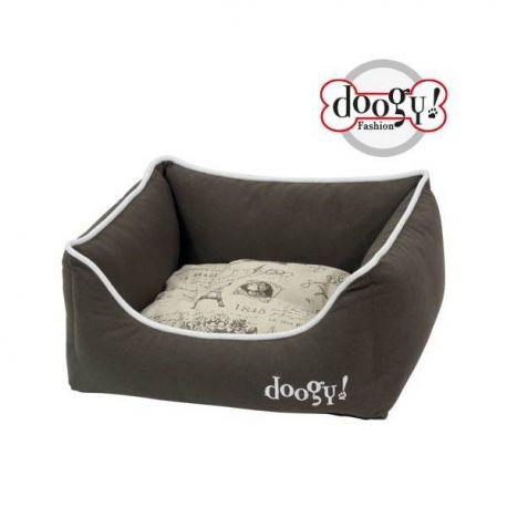 """Doogy confort Sofa - """"Quadri"""" Design - Blue"""