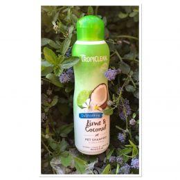 TropiClean Natural - Shampooing anti-mue - Citron vert & noix de coco