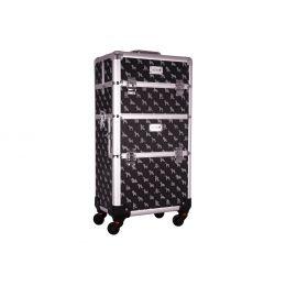 Groom-X Valise de Toilettage XL 2en1 avec 4 roues et Manche Téléscopique, K-Design
