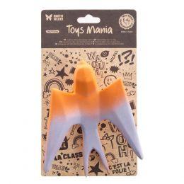 Jouet latex - Collection Origami - Hirondelle orange
