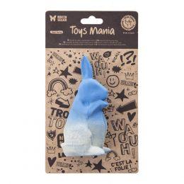 Jouet latex - Collection Origami - Lapin bleu