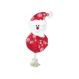 Peluche galette Père Noël