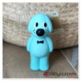 Jouet chien latex Musty bleu
