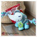 Jouet KONG - Knots Carnival Elephant