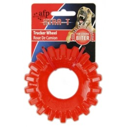 Chewing trucker wheel