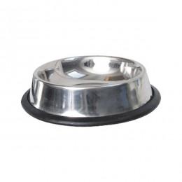 Inox bowl with anti-slip rubber